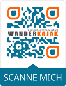 qr code für wanderkajak gmb