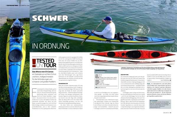 Altura CS Canoe Testbericht Kanumagazin